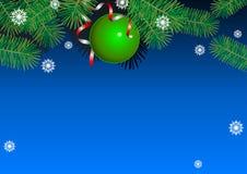 Weihnachtszweig Vektor Abbildung