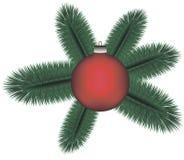 Weihnachtszweig Lizenzfreie Stockbilder