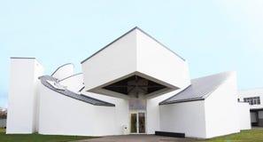 WEIL AM RHEIN NIEMCY, LISTOPAD, - 26, 2017: Vitra projekta Muzealny budynek Obraz Royalty Free