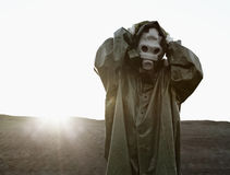 Weil Verlust der Ozon-Schicht die Sonne gefährlich ist Stockbild
