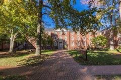 Weil y Winfield Halls en UNCG Fotos de archivo libres de regalías