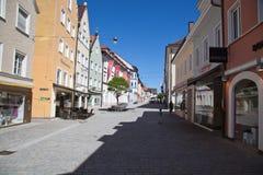 Weilheim i Oberbayern royaltyfri fotografi