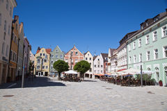 Weilheim in Oberbayern. Downtown of  Weilheim in Oberbayern, Germany Stock Image