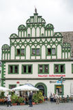WEIMAR, GERMANY/EUROPE - 14 DE SEPTIEMBRE: Información turística Offi imagen de archivo libre de regalías
