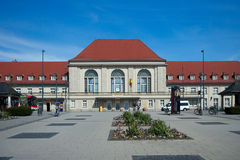 Weimar railway station, Thuringia, Germany Royalty Free Stock Photography