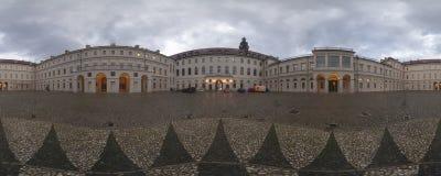 WEIMAR TYSKLAND - OKTOBER 21, 2008: Slott av den klassiska Weimaren, Tyskland Royaltyfria Foton