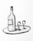 Wein Stockbild