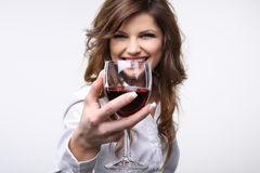 Wein. Lizenzfreies Stockfoto