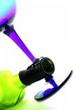Wein-abstrakter Hintergrund Lizenzfreies Stockfoto