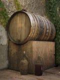 Wein-Bottich Stockfotografie