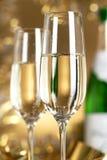 Wein. Champagne Lizenzfreies Stockbild