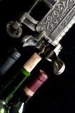 Wein, der Uncorked ist Stockbilder