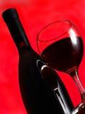 Wein des Glases Lizenzfreies Stockbild
