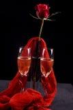 Wein für zwei Stockfotos