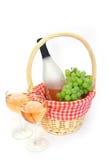 Wein für zwei Lizenzfreies Stockbild
