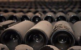Wein-Flaschen Stockfotografie