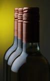 Wein-Flaschen Stockbild