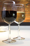 Wein-Gläser Lizenzfreies Stockbild