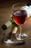 Wein-Glas Stockfoto