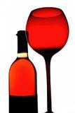 Wein-Hintergrund-Design Lizenzfreie Stockfotos