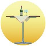 Wein - Illustration Lizenzfreie Stockfotografie