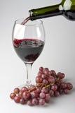 Wein im Glas Lizenzfreie Stockbilder