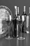 Wein-noch Leben lizenzfreie stockfotos