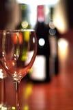 Wein-Probieren Stockbild