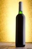 Wein Rotwein in der Flasche Stockbilder