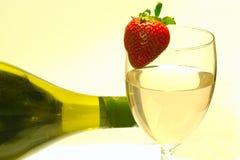 Wein und Flasche Lizenzfreie Stockbilder