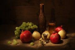 Wein und Früchte Lizenzfreie Stockfotografie