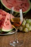 Wein und Frucht Lizenzfreies Stockbild