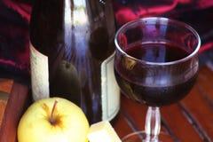 Wein und Käse Lizenzfreie Stockbilder