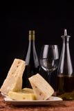 Wein und Käse   Lizenzfreie Stockfotografie