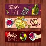 Wein und Käse Stockbild