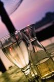 Wein und Soda Stockbilder