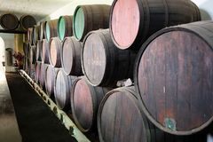 Wein-Wölbung Stockfotos