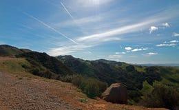 Weinanbaugebiet-Landschaft Paso Robles in zentralem Kalifornien Lizenzfreie Stockfotos