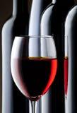 Weinaufbau Lizenzfreies Stockfoto