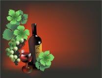Weinaufbau Lizenzfreie Stockbilder