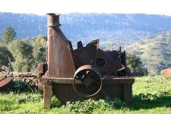 Weinberg-Ausrüstung Stockbild