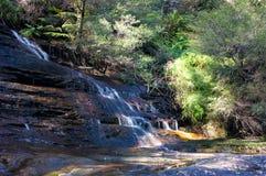 Weinende Felsenfälle, Wasserfalllandschaft Lizenzfreies Stockbild