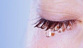Weinende Frau Stockfotos