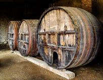 Weinfässer Stockbilder