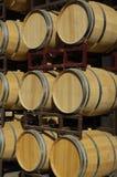 Weinfässer Stockfoto