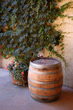 Weinfaß Stockbild