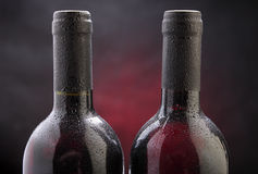 Weinflasche Stockbilder