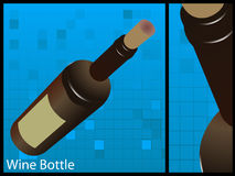 Weinflasche Lizenzfreie Stockfotografie