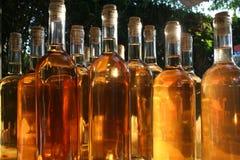 Weinflaschen Stockbilder