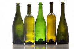 Weinflaschen Stockfotos